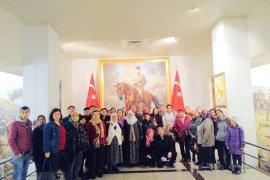 Menteşliler Ankara ve Konya'yı gezdi