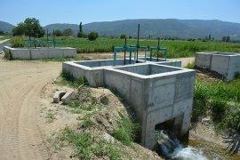 121 bin 300 dekar tarım arazisi sulandı