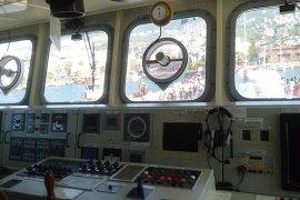 Mayın tarama gemisine yoğun ilgi