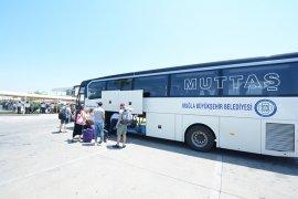 MUTTAŞ 3 Milyon 237 bin yolcu taşıdı