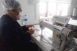 Maskeler Muğla'da üretiliyor