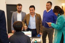 Dünya Turizm Liderleri'ne katılan ilk belediye başkanı Aras oldu