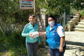 Büyükşehirden veteriner kliniklerine maske