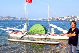 7 metrelik motorsuz tekne ile dünya turu yapacak