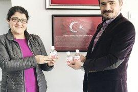 BİK'ten gazetecilere BOREL Dezenfektan