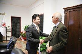 Başkan Atıcı, Başsavcı Yapar'ı ziyaret etti