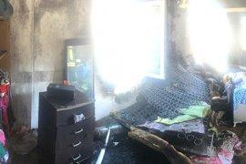 Çocuk odasındaki yangın korkuttu