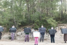 İkizköylüler, 23 Nisan'da da ormanlarını kestirmedi!..