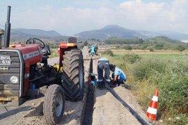 Milas'ın mahallelerinde şebekeler yenileniyor