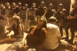 Akbelen ormanını savunanlara, gece yarısı jandarma operasyonu