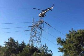 Gizemli helikopterin sırrı ortaya çıktı
