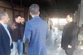 Vekil Özcan'dan hastaneye geçmiş olsun ziyareti