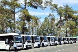 Büyükşehir ve ÖTTA Muğla Nüfusunun 166 katı yolcu taşıdı
