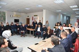 Başkan Tokat Ankara öncesi partilerden destek istedi