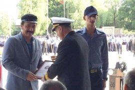 Bahriyeli geleneğinde Erbey ailesi sertifika aldı
