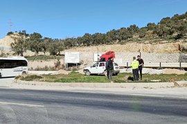 TOKİ Kavşağında kaza: 1 yaralı