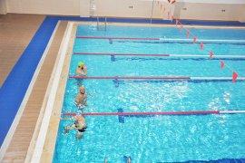 Kapalı Yüzme Havuzu Hizmete Girdi..