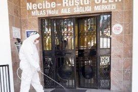 Milas Belediyesi'nden dezenfeksiyon çalışması