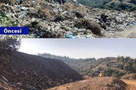 Büyükşehir rehabilite edilen çöp sahalarına 3 Bin 500 fidan dikiyor