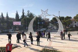 Meydanlar yılbaşına hazır