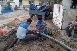 Milas'ta şebeke hatları yenileniyor