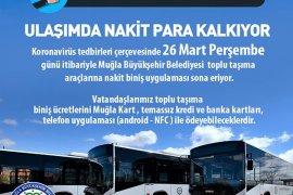 Toplu taşımada nakit biniş sona eriyor