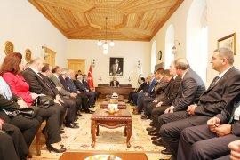 Rize Ticaret ve Sanayi Odasından Başkan Gürün'e Ziyaret