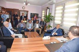 CHP Genel Başkan Yardımcısı Yıldırım Kaya Milas'taydı
