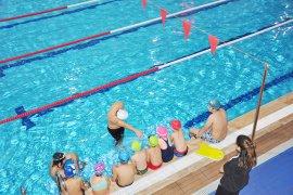 Yüzme kursları başladı