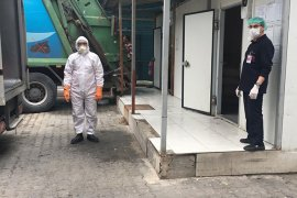 Tıbbi Atık Bertaraf Tesisi'nde Koronavirüs tedbirleri arttırıldı