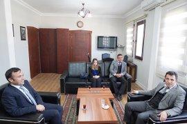 Vergi Haftası'nda, Vergi Dairesi'nden Başkan Tokat'a ziyaret