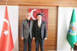 Başsavcı Yapar'dan Başkan Atıcı'ya iade-i ziyaret