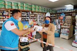 Muğla Büyükşehirden eczanelere ücretsiz maske