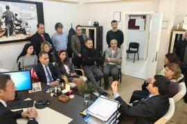 Saylak, MİTSO'da toprak havuz üreticileri ile buluştu