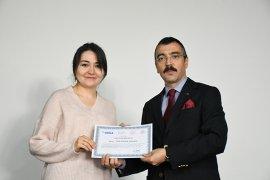 İnovasyon eğitiminin sertifika töreni yapıldı