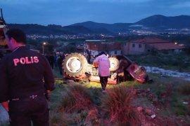 79 yaşında traktör kazası kurbanı oldu