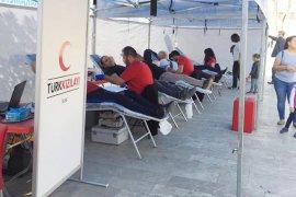 Öğretmenlerden kan bağışı