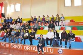 24 Kasım Öğretmenler Voleybol Turnuvasında Final Maçları