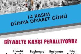 """""""Diyabete karşı pedallıyoruz"""""""