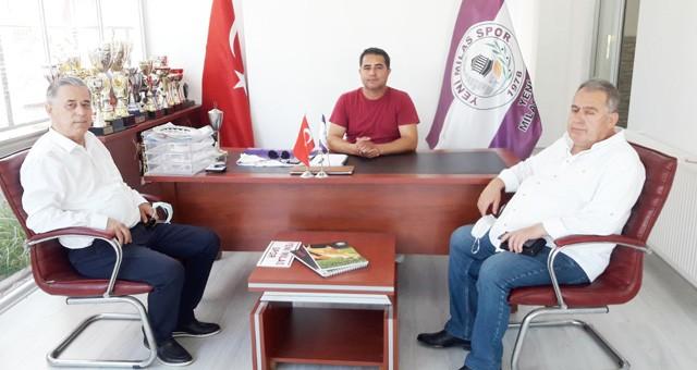 Milletvekili Özcan, Yeni Milasspor'u ziyaret etti