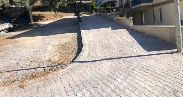 Aydınlıkevler Mahallesi parke kaplama çalışması tamamlandı