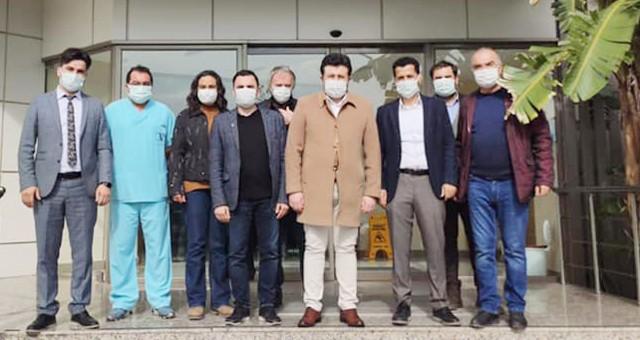AKP İlçe Başkanı Emin Çelik'ten İlgin Göktepe'ye ziyaret: