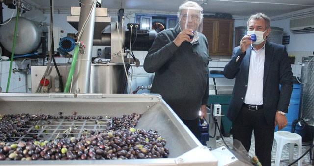 MİTSO'dan zeytinyağının şampiyonu Ali Osman Menteşe'ye teşükkürler