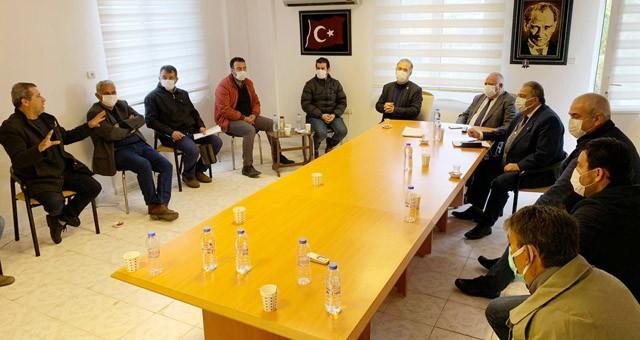 Milletvekili Suat Özcan:Milas Şoförler ve Otomobilciler Odası'nı ziyaret etti