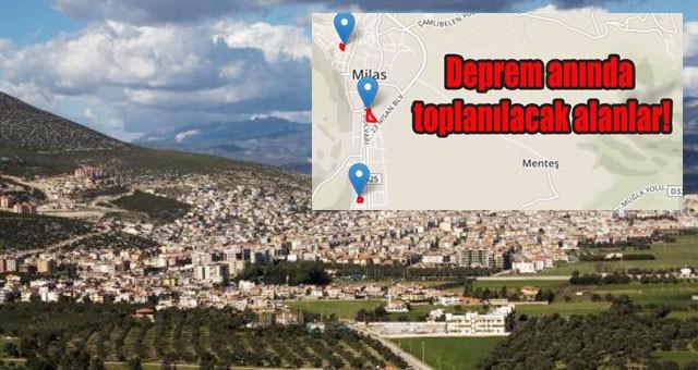 Depremde toplanma alanınızı biliyor musunuz?