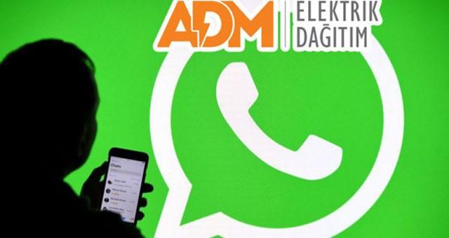ADM'den WhatsApp servisi hizmeti..