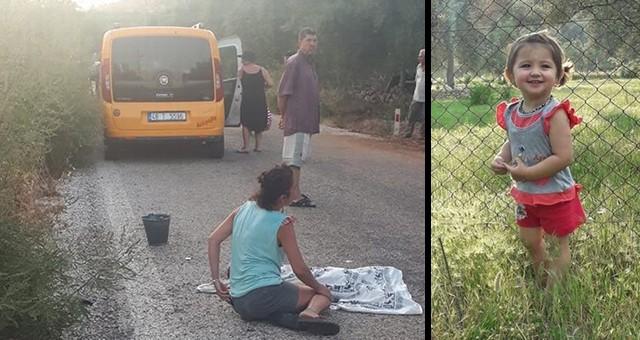 Akyaka-Akbük Yolu'nda Trafik Kazası...3 Yaşındaki Ceylan Pınaraltı Öldü..