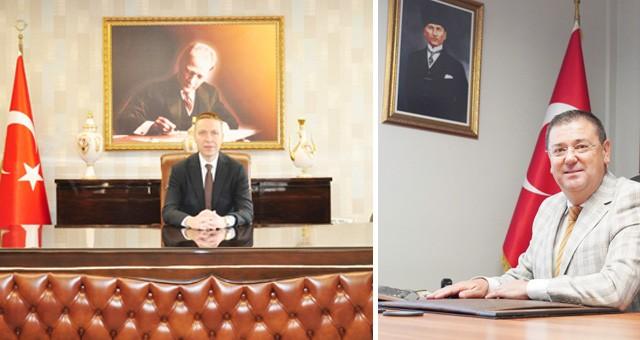 Kaymakam Böke ve Başkan Tokat'tan 19 Mayıs kutlama mesajı