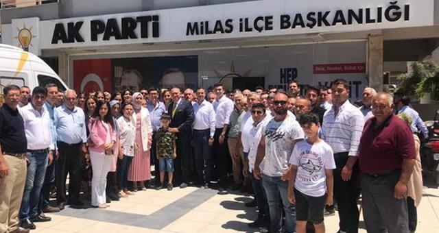 AKP'de bayramlaşma sevinci ilk gün gerçekleşti