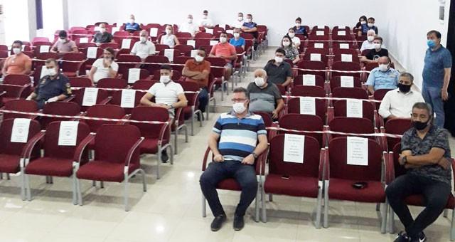 Milas Kaymakamı Eren Arslan'danbir diğer korona istişare toplantısı